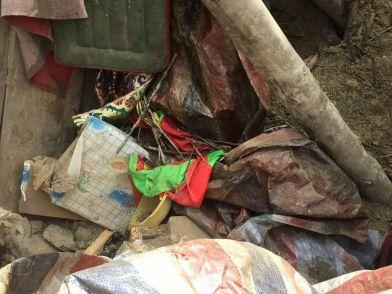 Retreathaus Dolma Lhakang Wasserschaden 08