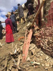 Retreathaus Dolma Lhakang Wasserschaden 10