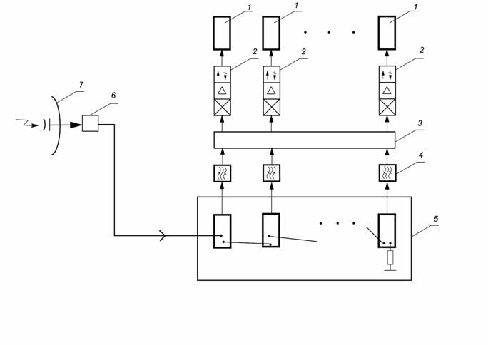 Base Station Architecture Supporting On-Air Frequency