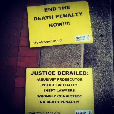 End The Death Penalty Now!!!