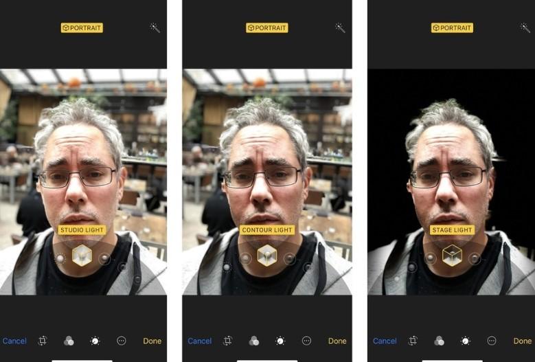Portrait Lighting Kamera iPhone X