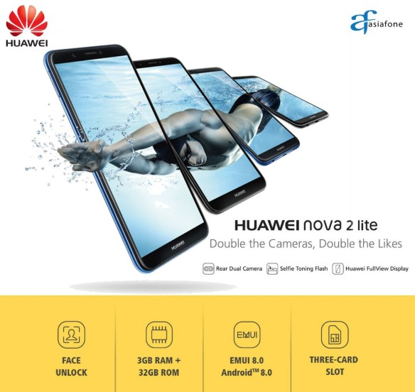 Harga Huawei Nova Lite 2