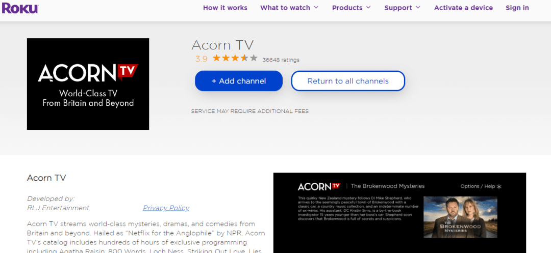 Select Add Channel option
