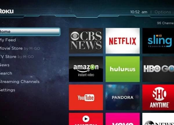 Tap on Streaming Channels