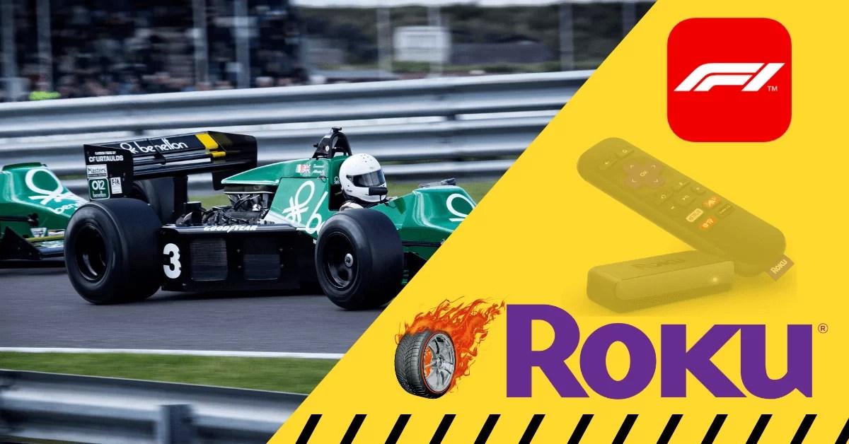 How to Watch F1 TV (Formula 1) on Roku
