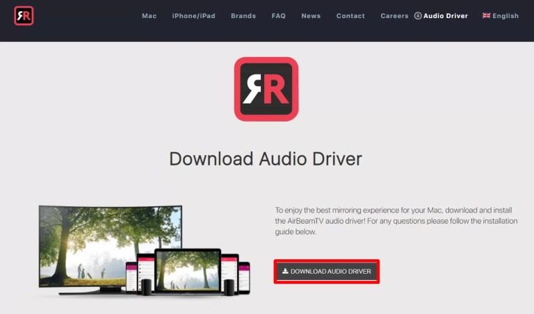 Download Audio driver