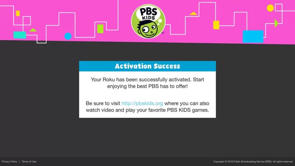 Activation success