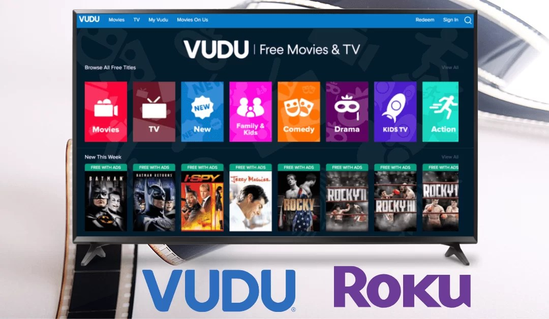 How to Add and Activate Vudu on Roku