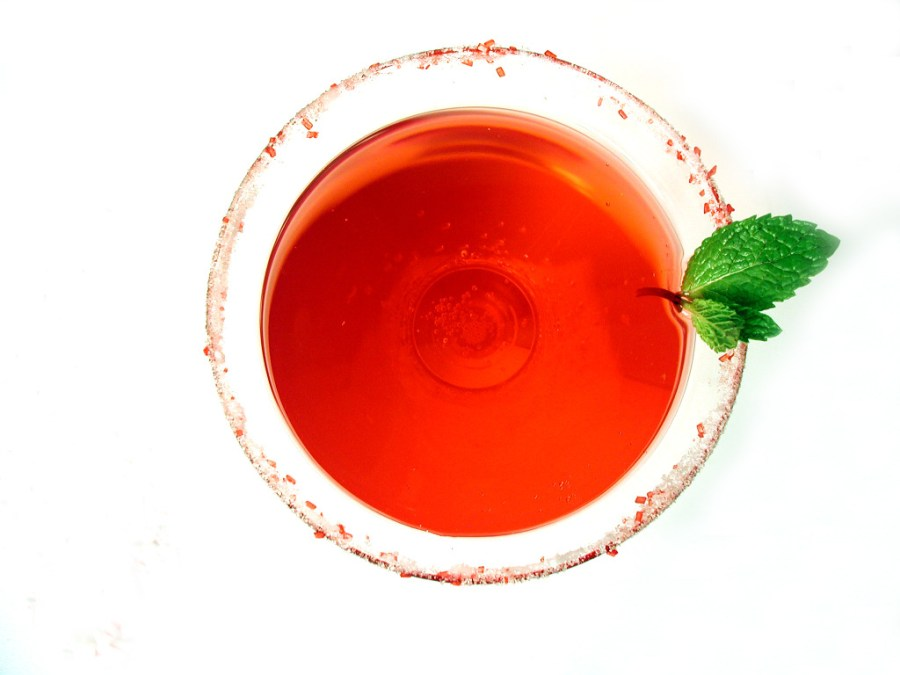 rokz Peppermint Martini recipe