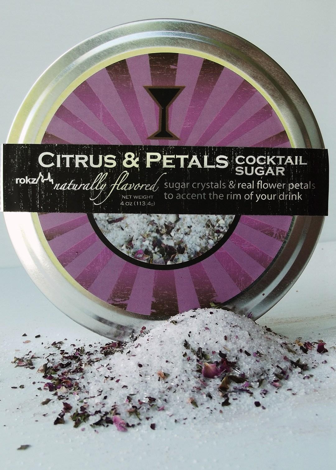 rokz Citrus Petals Infused Sugar