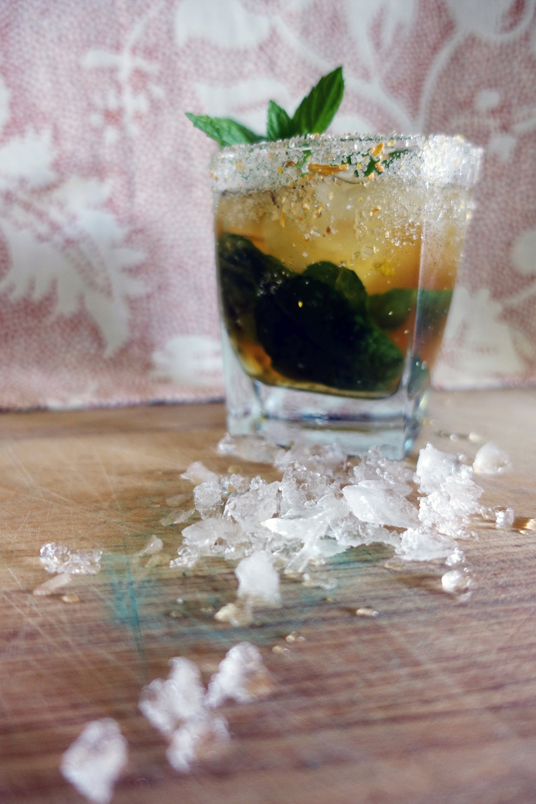 Hopped up Julep, cocktail recipe by rokz