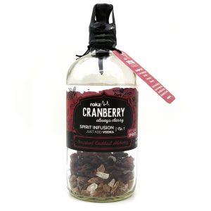 rokz Cranberry Spirit Infusion Bottle