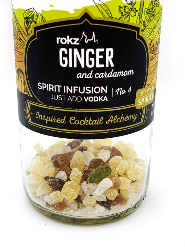 rokz Ginger Cardamom Infusion Bottle