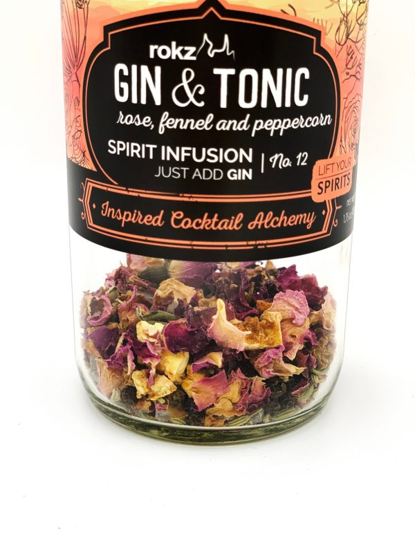 rokz Gin & Tonic Spirit Infusion Bottle