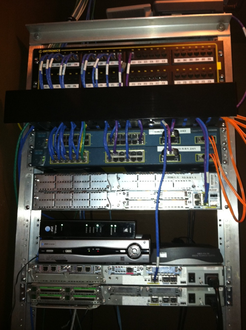 hight resolution of home network rack home network