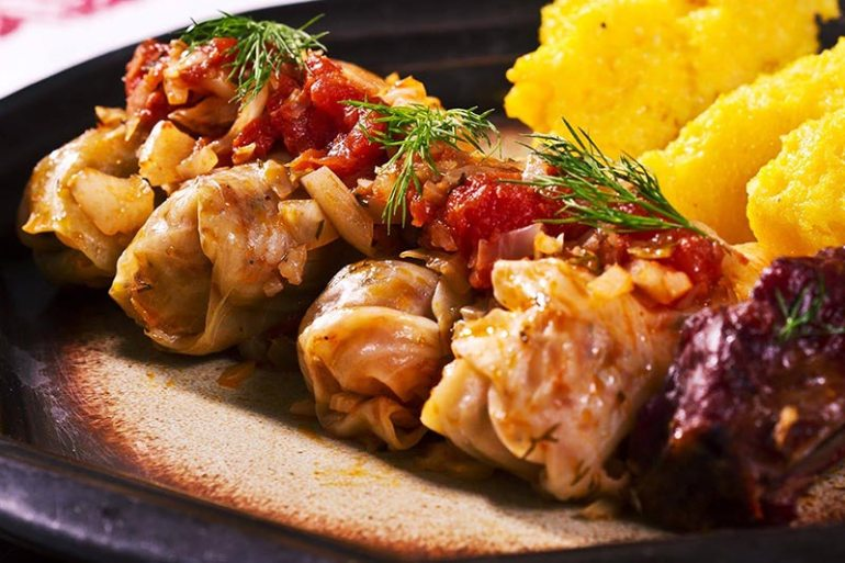 sarmale (Cabbage Rolls)