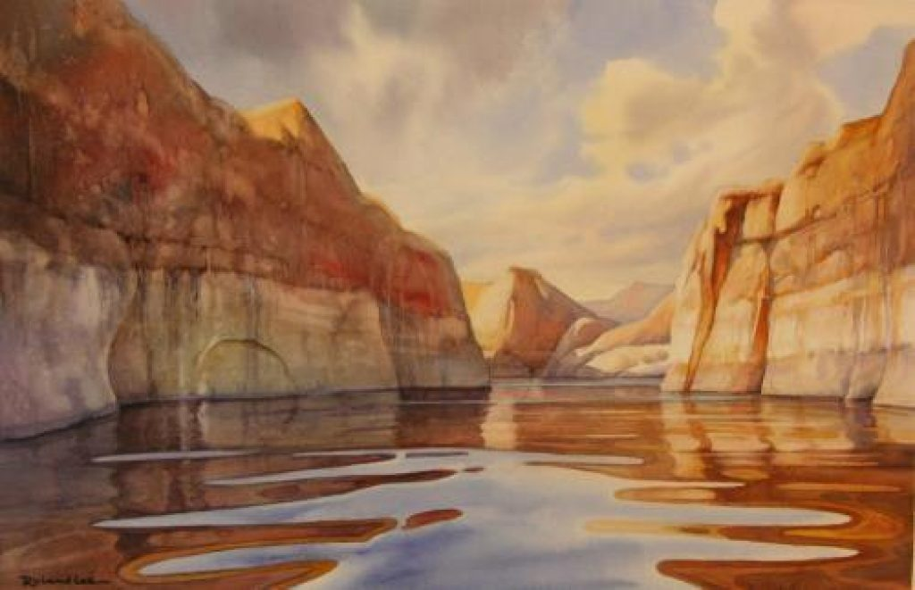 How to Paint Water  Watercolor painting step by step