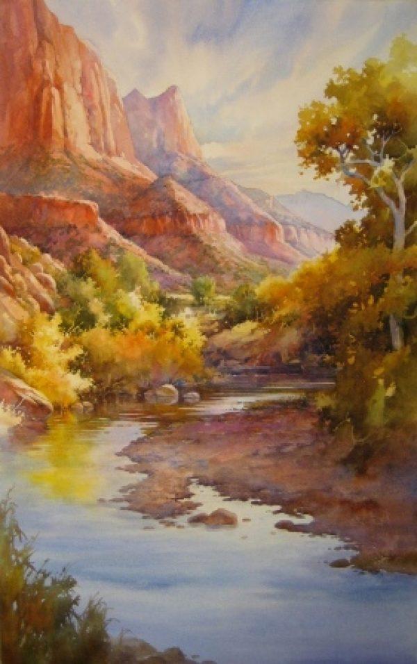 Watercolors Portrait Painting Steps