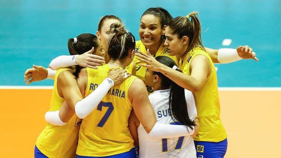 Brasil vence a Holanda e fica perto da vaga para fase final do Grand Prix