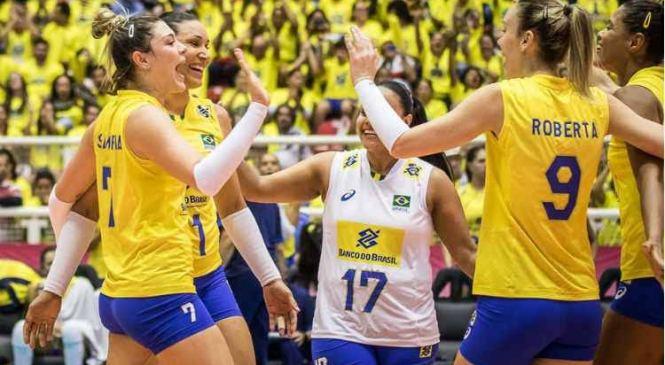 Brasil vence a Holanda e respira no Grand Prix