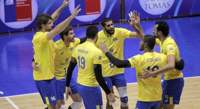 Brasil derrota a Venezuela e é Campeão Sul-Americ.