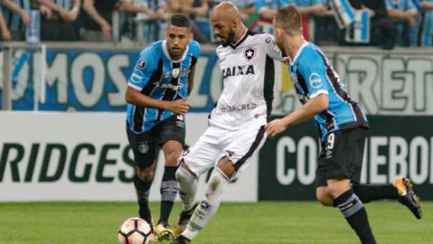 Fim do sonho! Botafogo perde para o Grêmio e deixa a Copa Libertadores