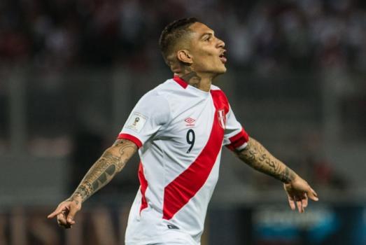 Guerrero é suspenso por um ano e está fora da Copa do Mundo
