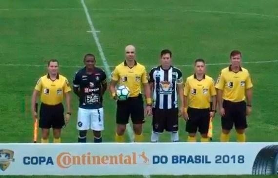 Fatal, Remo vence o Atlético-ES e se classifica à segunda fase da Copa do Brasil