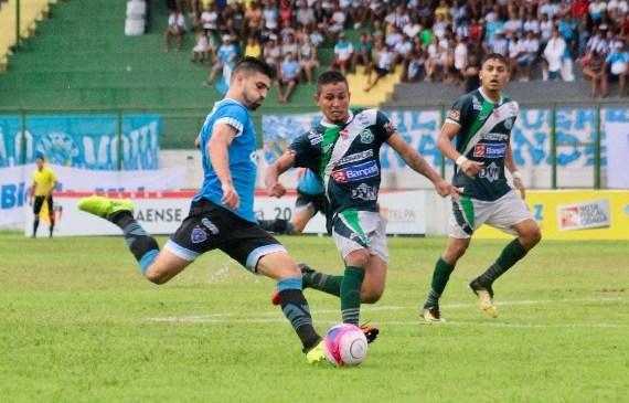 Em jogo travado, Paragominas e Paysandu empatam na Arena Verde