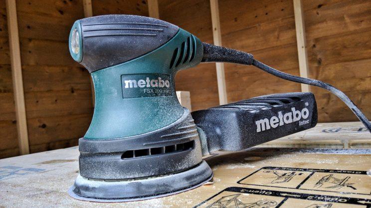 Metabo FSX 200 orbital sander