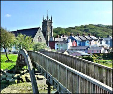 Aberaeron, Ceredigion, Wales