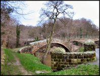 Egton, N.Yorkshire - 3 Bridges together