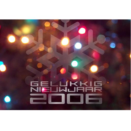 Nieuwjaarskaart 2006