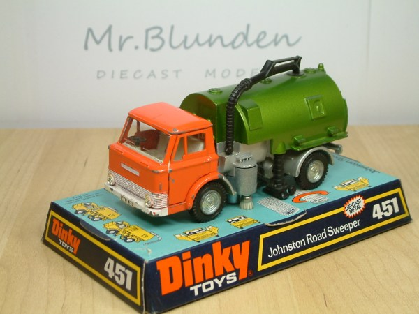 Dinky Toy Road Sweeper