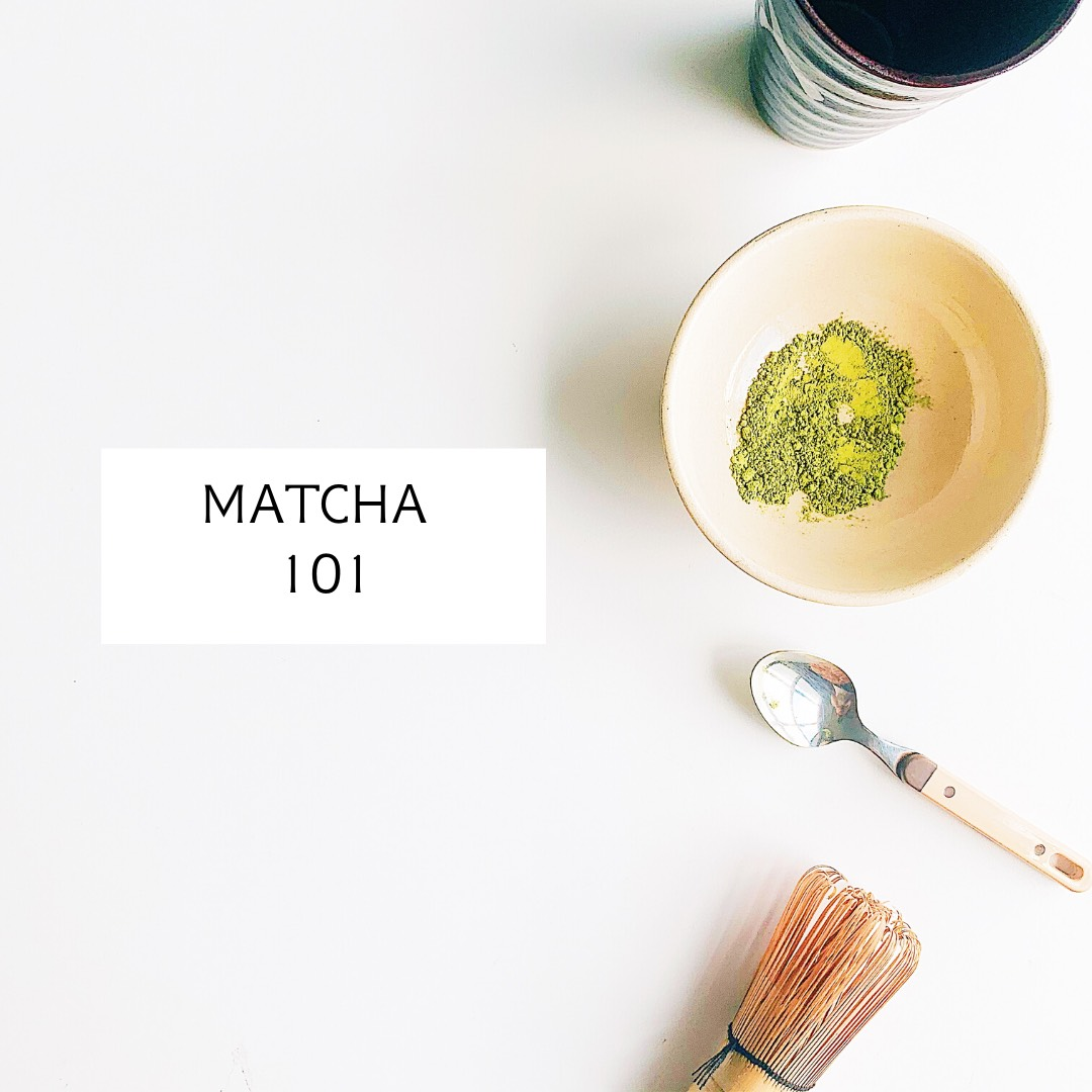 roleaf matcha 101 in bowl with whisk