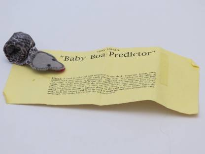 Baby Boa Predictor - Tony Clark Magic