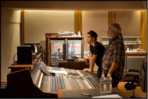 Mixing Q & A segment of Chickenfoot show