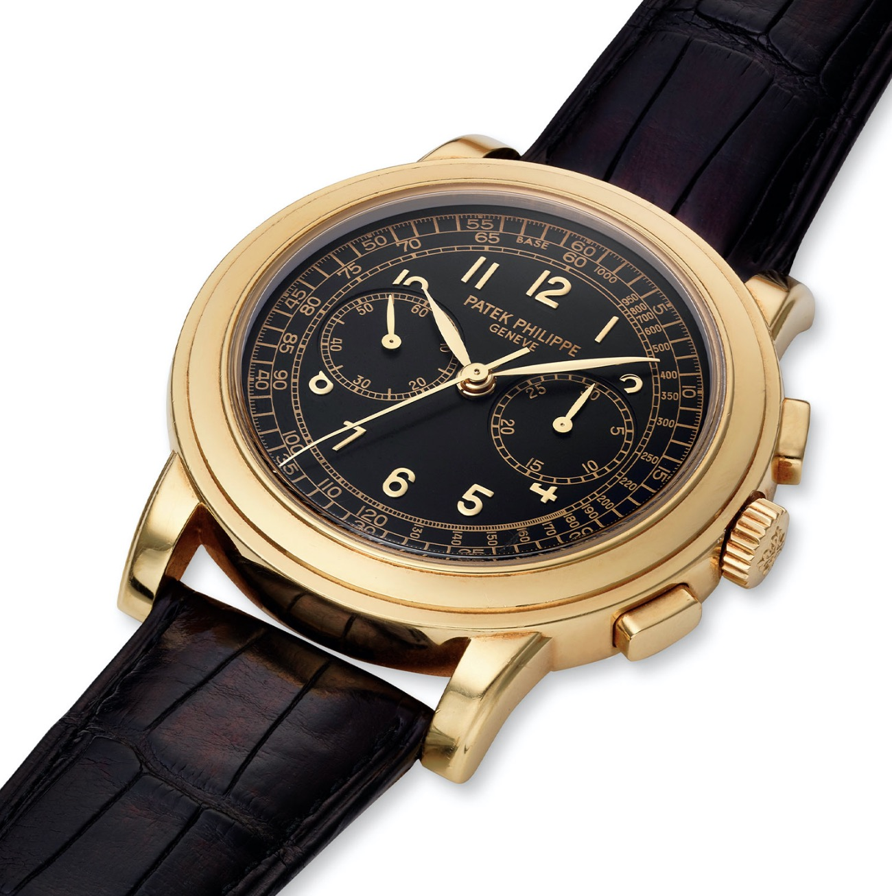 Patek Philippe 18K yellow gold ref. 5070 with box and papers from 2000 - Rolex Passion Market