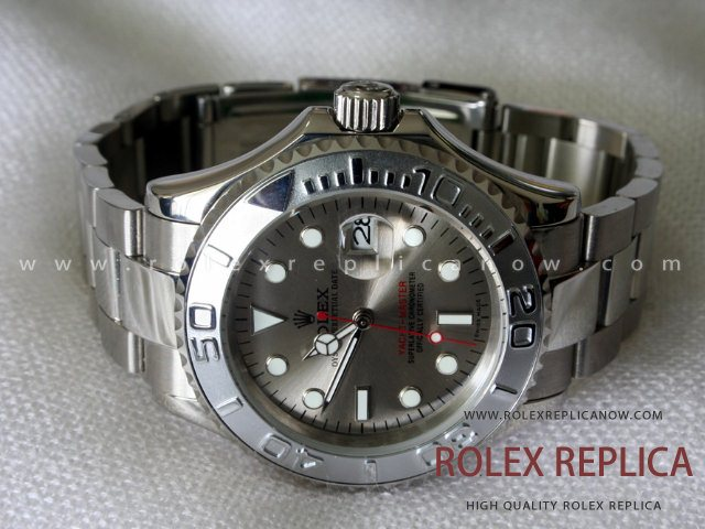 Rolex Yacht Master II Replica Gray Dial