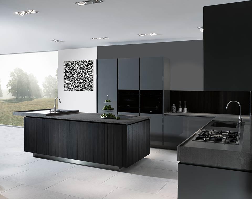 Ideensammlung Küche Anthrazit Hochglanz Wonderful Image