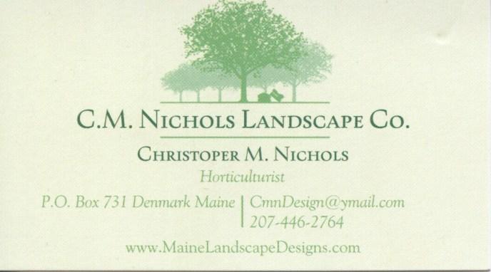 C.M. Nichols Landscape Co.