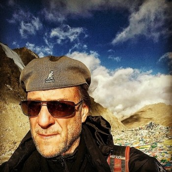 Joe Cummings at Mount Kailash.