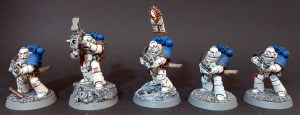 World Eaters Tactical Squad 3 - Bolter and Missile Launcher