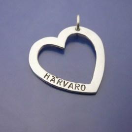 Silverhjärta med Härvaro