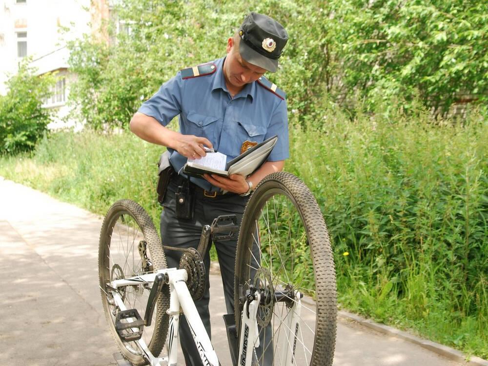 Когда украли велосипед