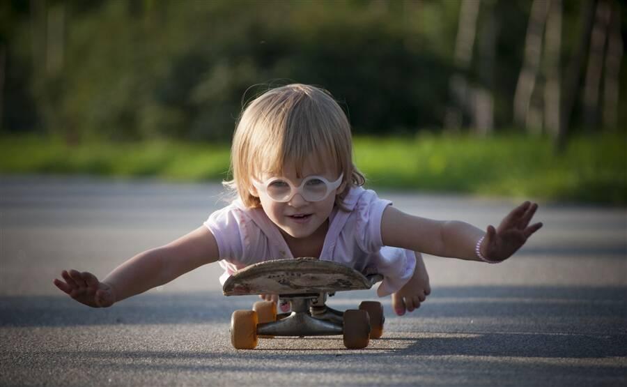 Со скольки лет можно скейт ребенку