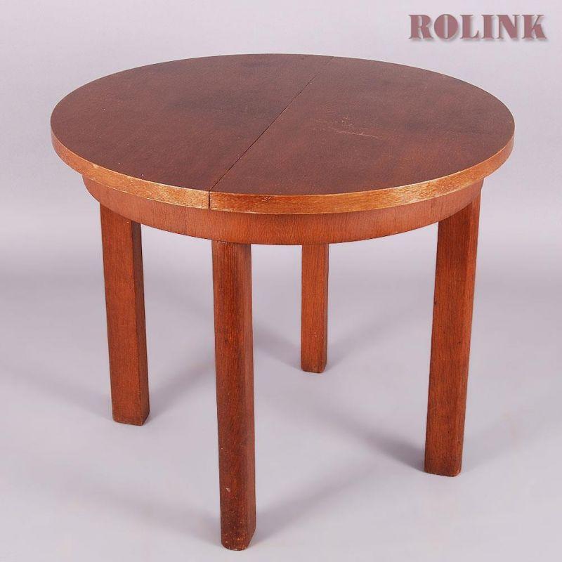 Tisch klein rund kleiner massivholz schublade schublad for Tisch design gebraucht