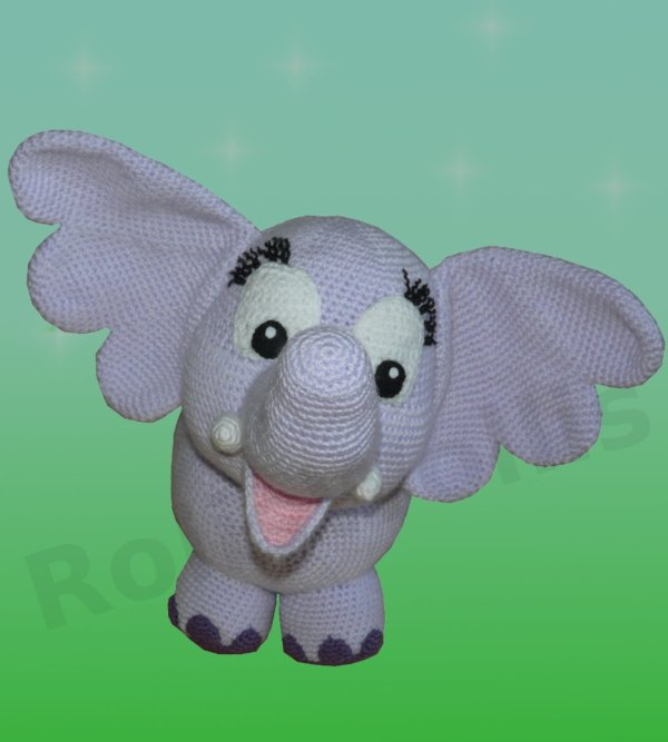 Amigurumis Amigurumi Elefant Elfi Amigurumi