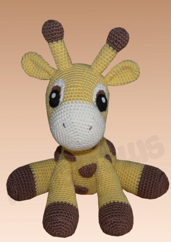 Amigurumis Amigurumi Giraffe Kara Amigurumi