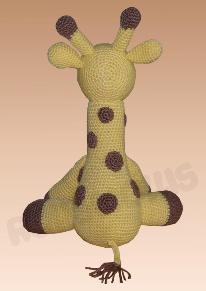 Amigurumi Giraffe häkeln - kostenlose & einfache Anleitung in 2020 ... | 1181x835